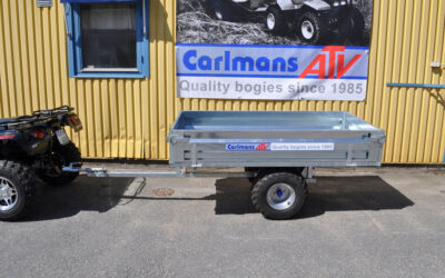 Carlmans Tippable farm trailer för atv